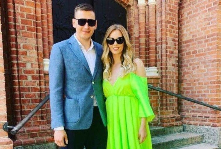 Edgaras Ulanovas ir Gabija Morkūnaitė  (nuotr. Instagram)