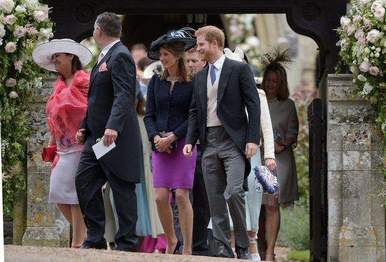 Meghan Markle, Princas Harry ir kiti svečiai (nuotr. Vida Press)