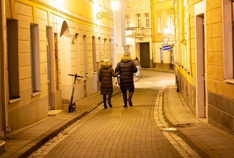 Karantinas Vilniuje (nuotr. Broniaus Jablonsko)