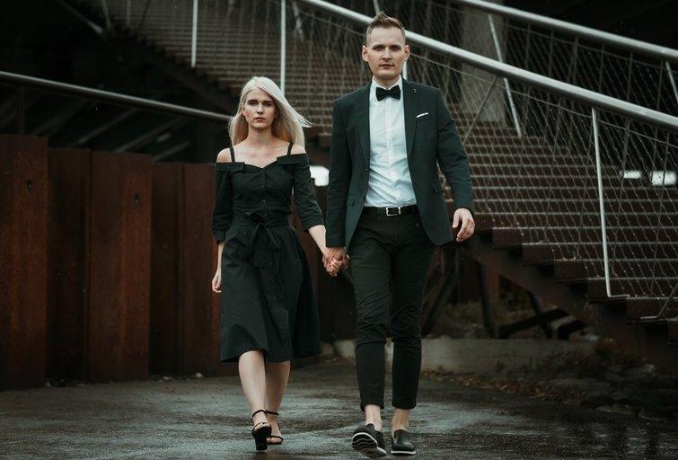 L. Krunglevičius su savo žmona Gertrūda (nuotr. asm. archyvo)