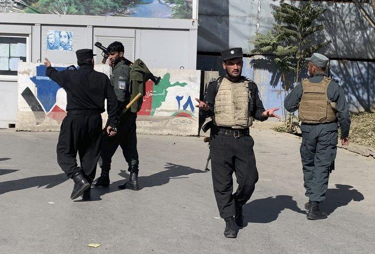 Policija Kabule (nuotr. Scanpix)