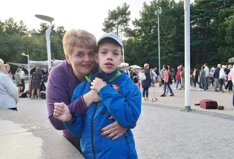 Laima Luckutė su sūnumi Luku. (nuotr. asm. archyvo)