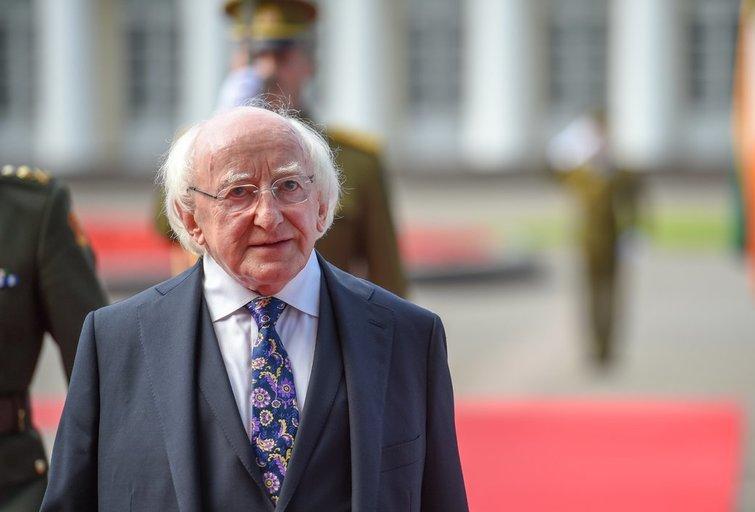 Prezidentė susitinka su Airijos Prezidentu Michaeliu D. Higginsu (nuotr. Fotodiena.lt)