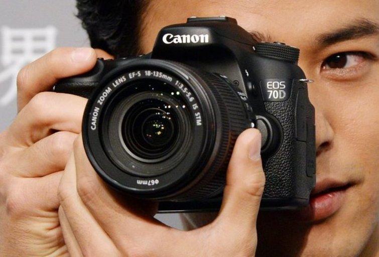 Fotoaparatas (nuotr. SCANPIX)