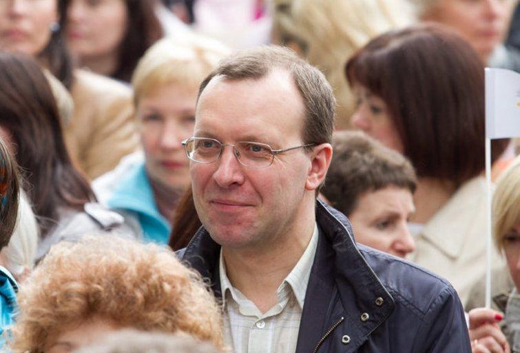 Naglis Puteikis telkia gretas (nuotr. TV3.lt/Ruslano Kondratjevo)