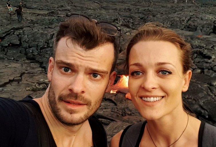 Mindaugas Rainys ir Milana Jašinskytė (nuotr. tv3.lt)