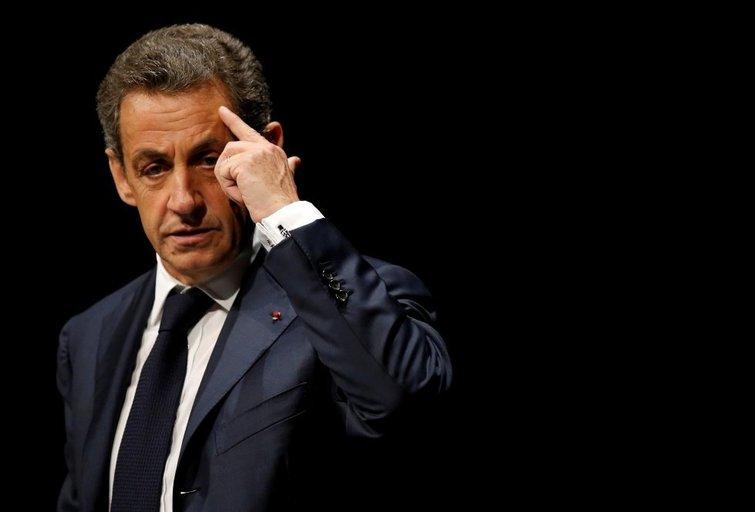 Prancūzijoje sulaikytas buvęs prezidentas Nicolas Sarkozy (nuotr. SCANPIX)