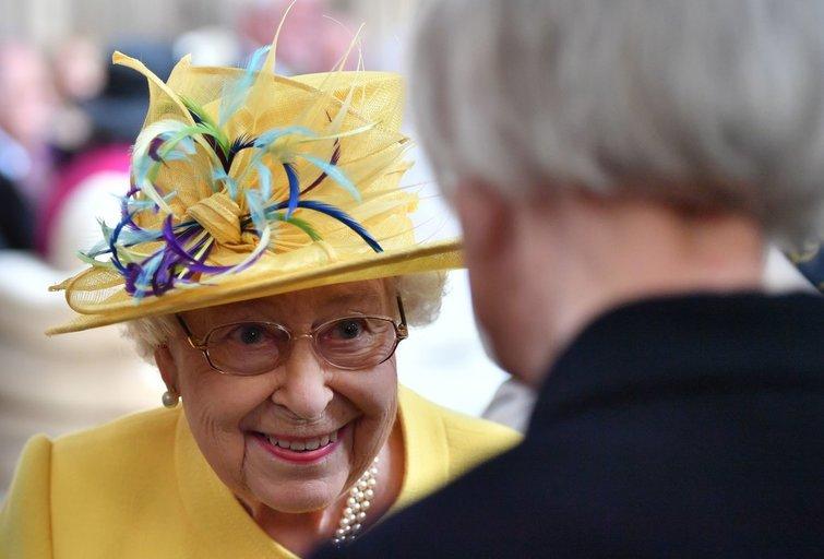 Elžbieta II (nuotr. SCANPIX)
