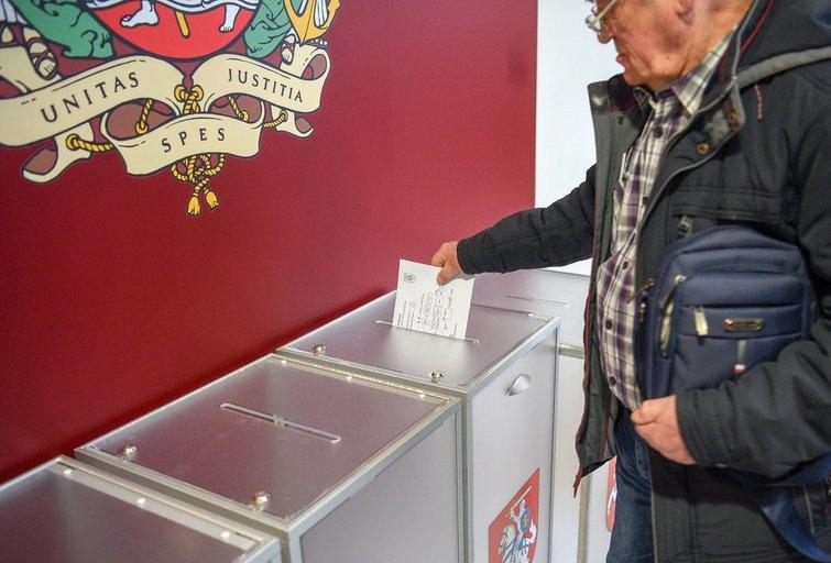 Rinkimai(Fotodiena/Justinas Auškelis)