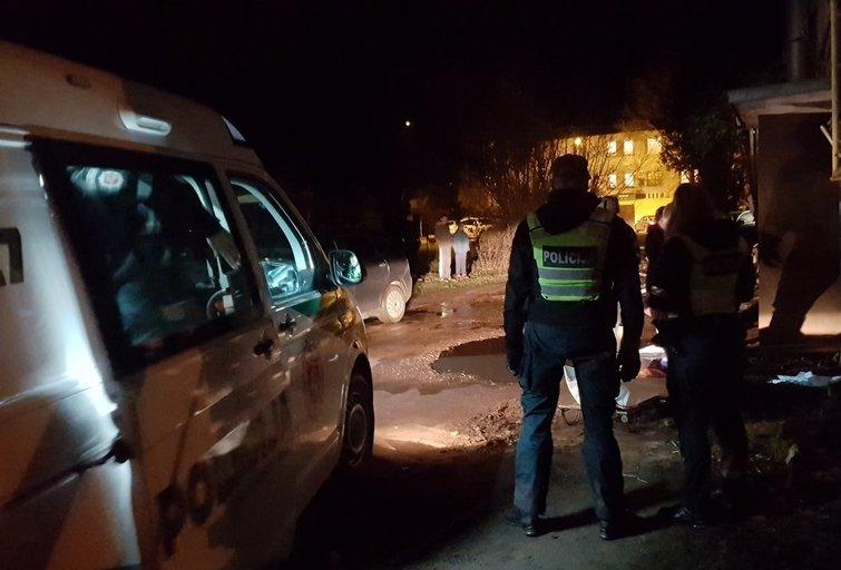 Gaisro Kauno rajone metu liepsnos pasiglemžė žmogaus gyvybę (nuotr. tv3.lt)