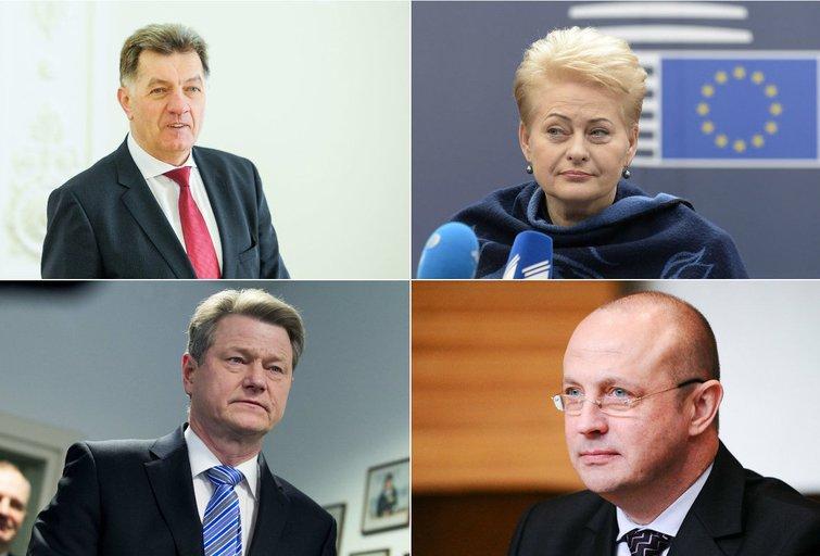 Lietuvos valdžios atstovai (nuotr. TV3)