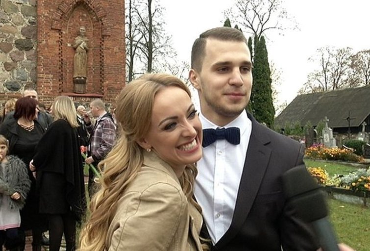 B.Skurstenė-Serdiukė su vyru Mykolu (nuotr. TV3)