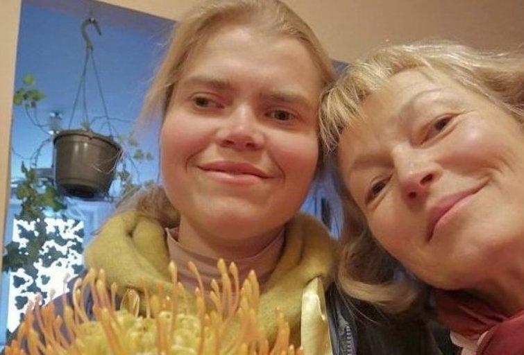 Ilona Papečkytė su dukra Elena. (nuotr. asm. archyvo)