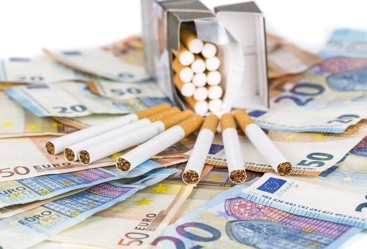 Cigaretės (nuotr. 123rf.com)