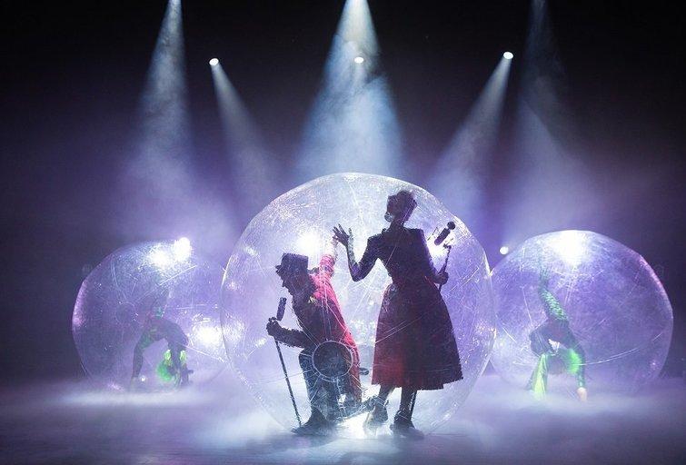 """""""Didydis šou burbulas"""" (nuotr. Organizatorių)"""