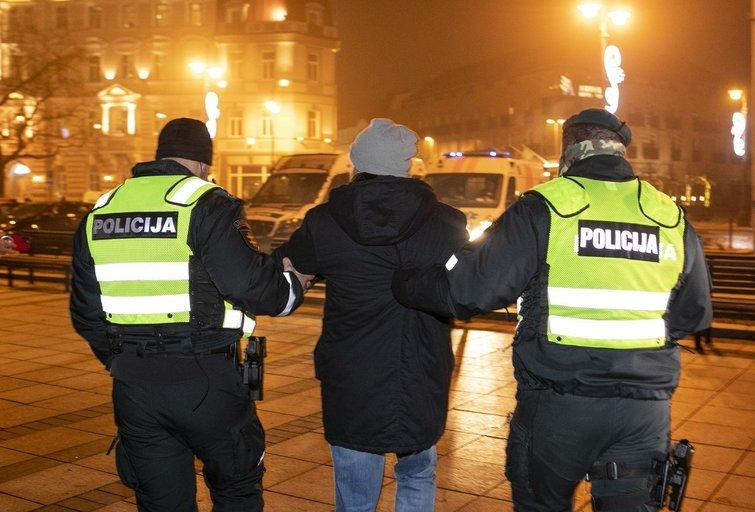 Policija (Paulius Peleckis/Fotobankas)