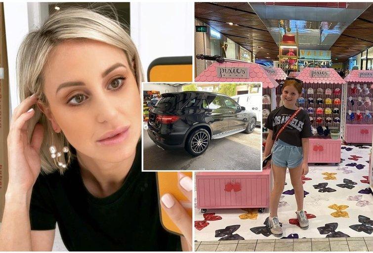 Australė dukrai nupirko prabangų automobilį (tv3.lt fotomontažas)