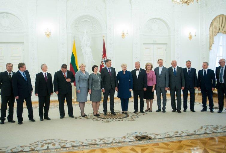 Vyriausybės nariai (nuotr. Fotodiena.lt)