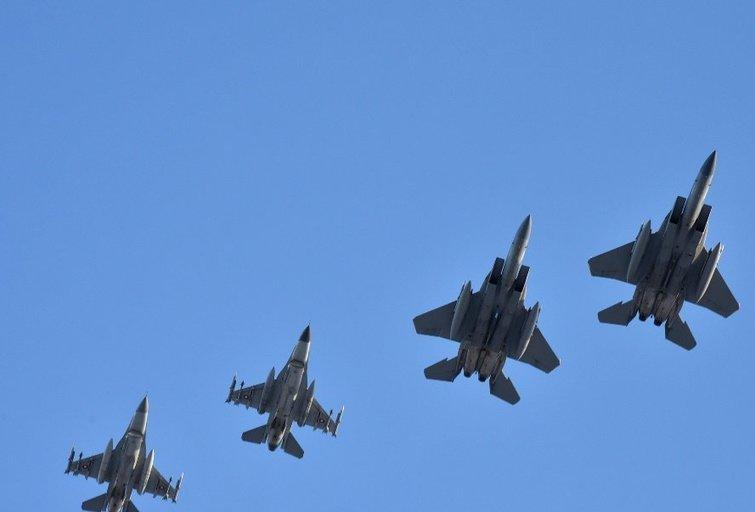 NATO oro policijos misiją Baltijos šalyse iš JAV perėmė Danijos karinių oro pajėgų kontingentas (nuotr. A. Gedrimo)