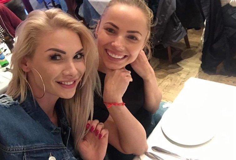 "Natalija Bunkė ir Goda Alijeva (nuotr. asmeninio albumo (""Facebook"")"