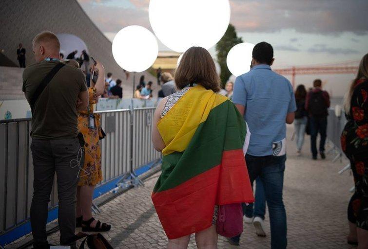 Ievos Zasimauskaitės akimirka Lisabonoje (nuotr. Rytis Šeškaitis)