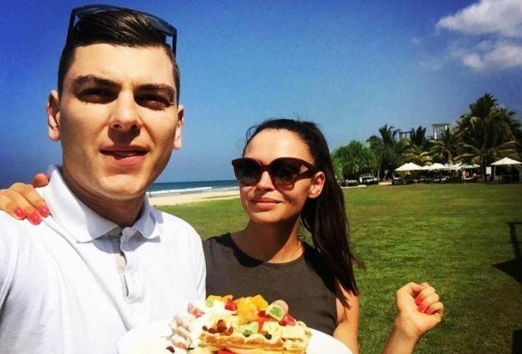 Ieva ir Rolandas Mackevičiai (nuotr. Instagram)