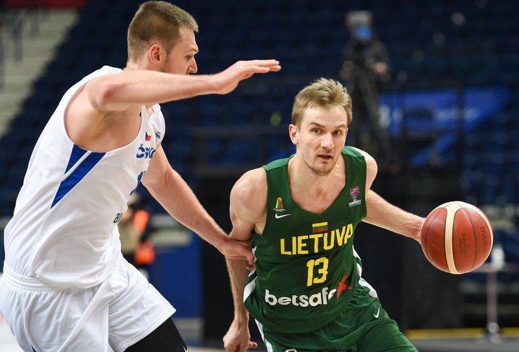 Rungtynės Lietuva–Čekija (nuotr. Fotodiena/Justino Auškelio)