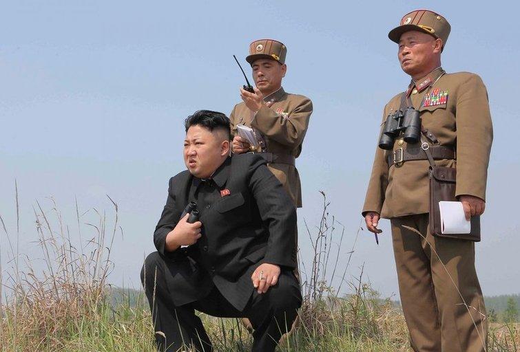 Šiaurės Korėja įspėjo pasaulį: šiurpina naujo ginklo bandymais (nuotr. SCANPIX)