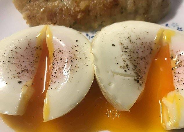 Kepti kiaušiniai (Nuotr. facebook.com)