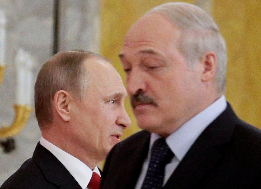 Maskva ruošiasi prisijungti Baltarusiją, tvirtina Kremliaus kritikas (nuotr. SCANPIX)