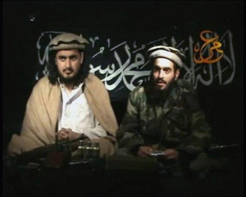 Humamas Khalilas Abu-Mulalas al-Balawis (dešinėje) (nuotr. SCANPIX)