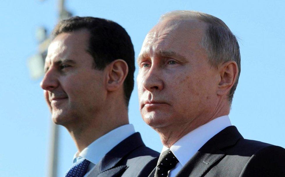 Rusija: JAV apšaudžius Siriją pasiliekame teisę smogti atgal (nuotr. SCANPIX)