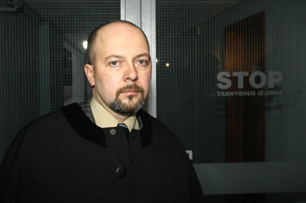 Advokatas Vytautas Sirvydis Andrius Ufartas/Fotobankas