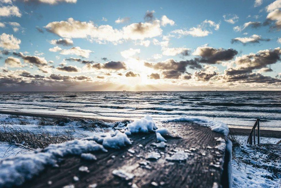 Ugnės Šimkienės nuotr. Klaipėda, Baltijos jūra.