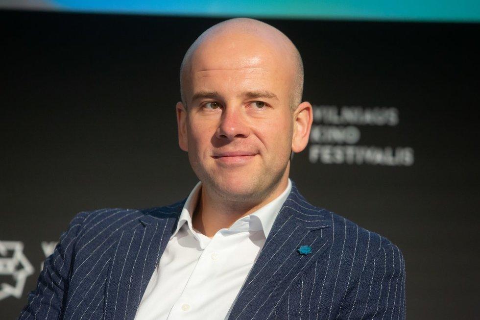 """""""Kino pavasario"""" generalinis direktorius Algirdas Ramaška"""