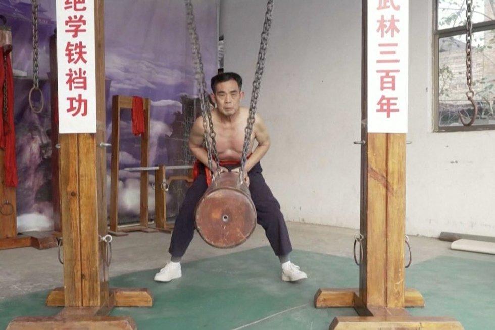 Kung fu (nuotr. stop kadras)