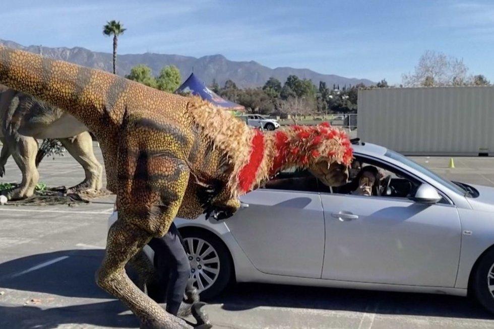 Dinozaurai (nuotr. stop kadras)
