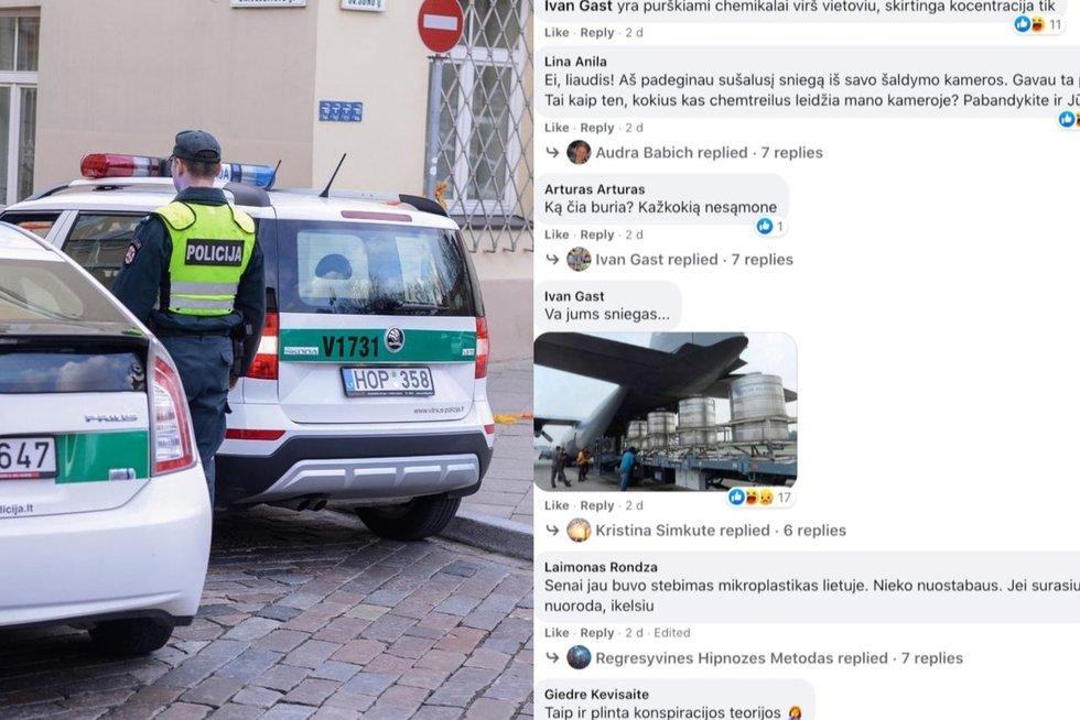 """Policija naudoja naują taktiką: dėl netinkamų įrašu """"Facebook"""" gali ateiti į jūsų namus (nuotr. stop kadras)"""