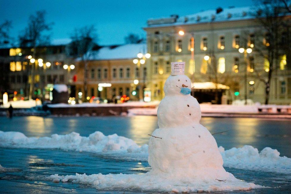 Žiema sostinėje (nuotr. J. Auškelis/Fotodiena.lt)