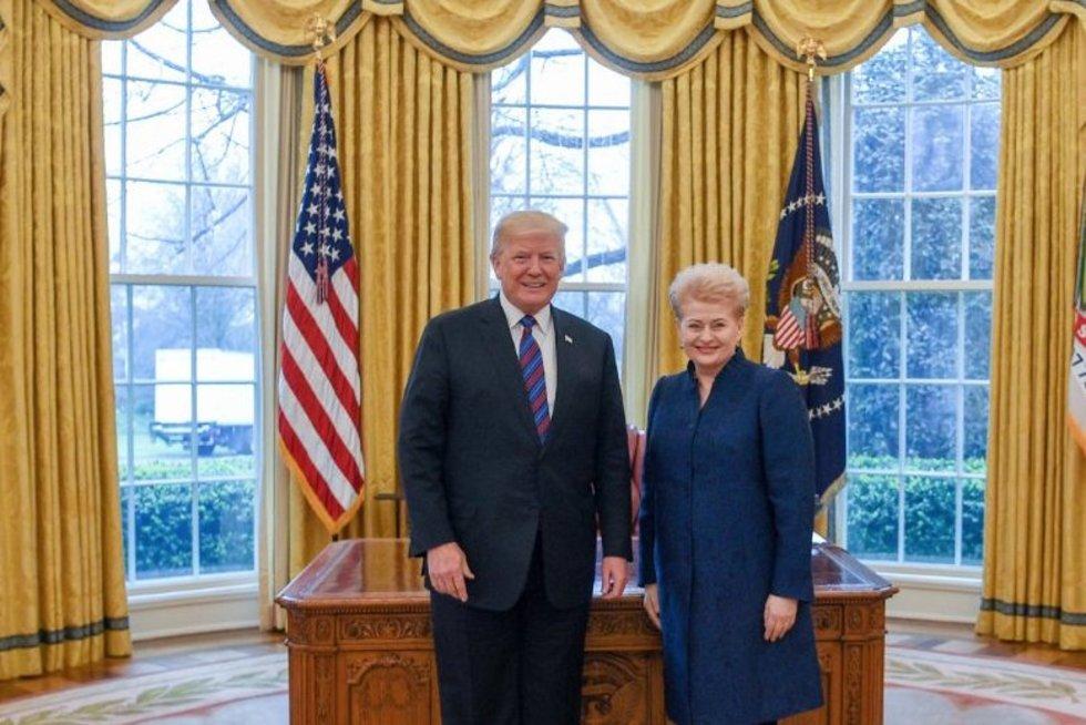 Lietuva užsitikrino visokeriopą JAV paramą kariniam ir energetiniam saugumui