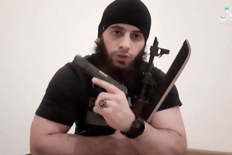 Teroristas (nuotr. stop kadras)