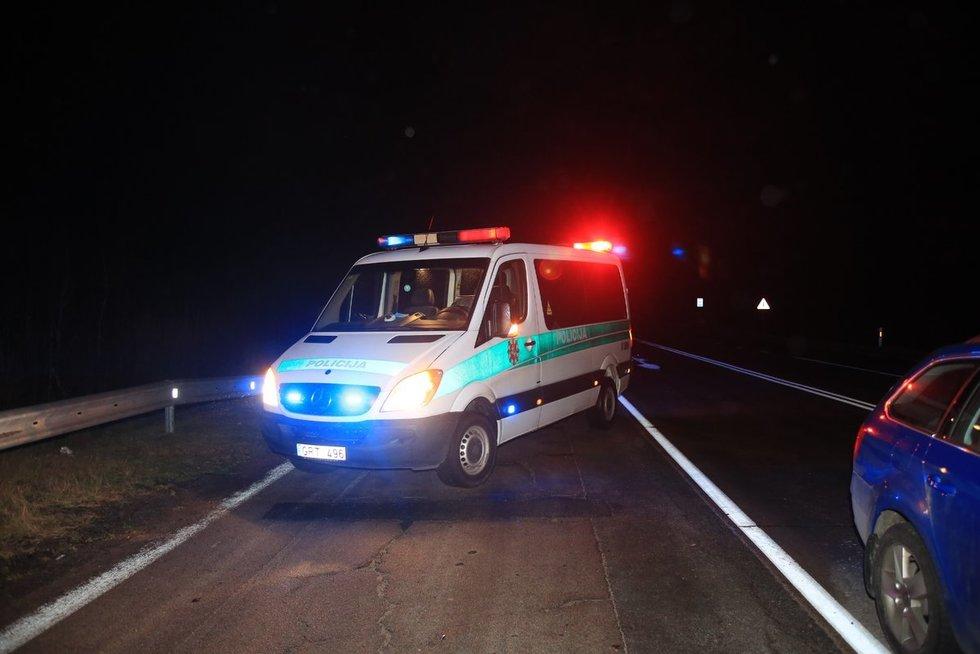 Vilniaus rajone žuvo automobilio partrenktas vyras (nuotr. Bronius Jablonskas/TV3)