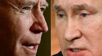 Bidenas ruošia sankcijas Rusijai ne tik už Navalną: tyla prieš audrą? (nuotr. SCANPIX)