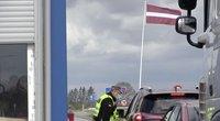 Siūloma panaikinti sienų kontrolę su Latvija (nuotr. stop kadras)