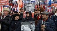 Maskvos centre minios gedėjo Boriso Nemcovo (nuotr. SCANPIX)
