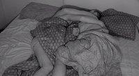 Trijulė miega (nuotr. tv3.lt)