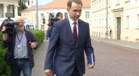 Susisiekimo ministras Rokas Masiulis (nuotr. stop kadras)