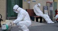 """""""Paskutinio teismo dienos"""" kultas išplatino koronavirusą Pietų Korėjoje (nuotr. SCANPIX)"""