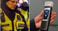 Policija praneša apie alkoholio padauginusį nepilnametį