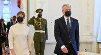 Estijos prezidentė Kersti Kaljulaid atvyko į Lietuvą (nuotr. Roberto Dačkaus)